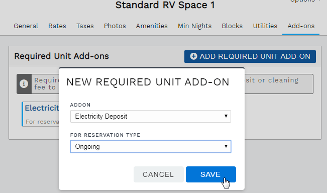 New required add-on